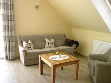 Wohnzimmer-Ausziehcouch