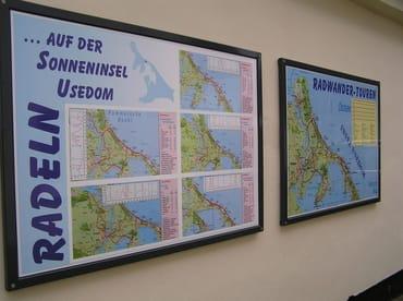 die Insel Usedom bietet Ihnen wünderschöne Radrundwege