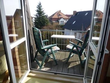 Balkon für Zwei