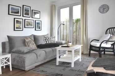 gemütliches Wohnzimmer mit Kuschelecke