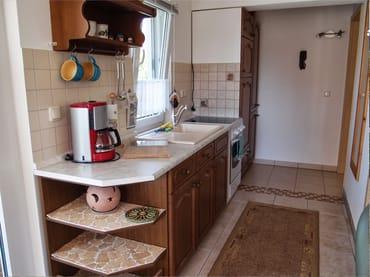 Separat gelegene Küchenzeile