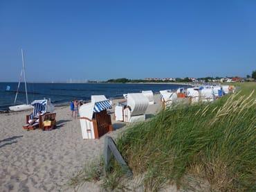 Strandleben in Glowe