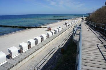 Strand in Nienhagen mit barrierefreiem Zugang