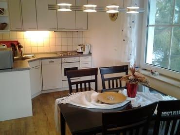 helle offenen Küche