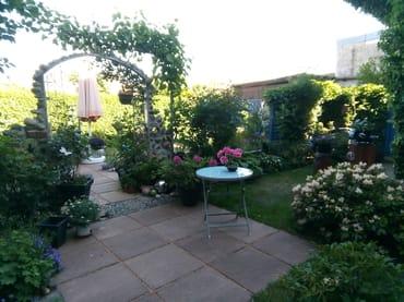 Ausschnitt Garten - vorderer Teil