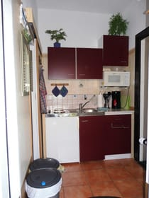 Blick in den Flur-/Küchenbereich