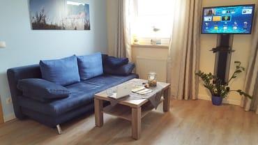 gemütliche Couch Haus OF Fewo Emmely