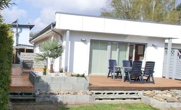"""45qm große """"Übereck-Terrasse"""""""