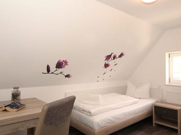 Schlafen 3 mit Einzelbett