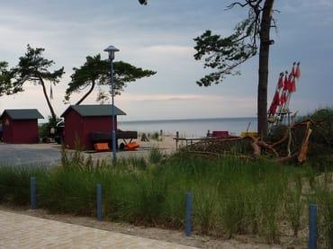 Fischerhütten in Zempin - Fischverkauf
