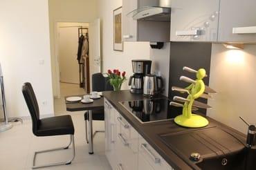 Küchenzeile zum Flur