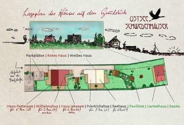 Grundplan  - Ostsee Schwedenhäuser