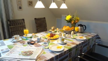 Frühstück im Haus OF