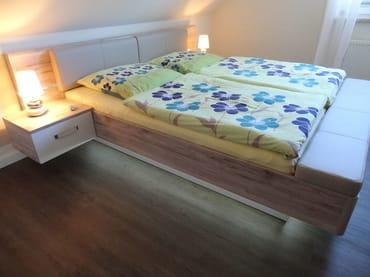 180cm Doppelbett mit Überlänge im Haus OF Fewo Melina