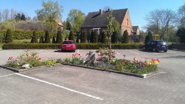Parkplatz vom Ferienpark Gustow