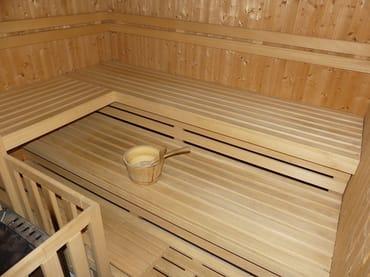 Sauna auf Münzbasis