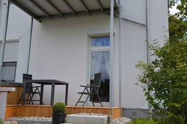 Terrasse auf dem Hof