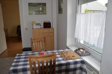 Essbereich in der Küche