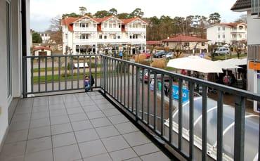 Balkon in Richtung Osten