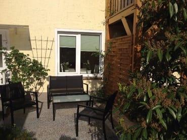 Wohnung mit eigenem Eingang und Terrasse