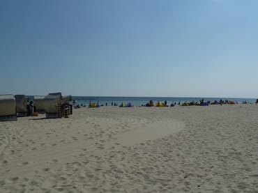 Strand in Sellin