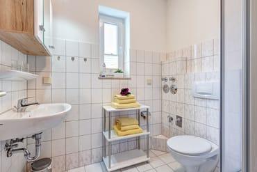 Badmit Dusche/WC & Föhn