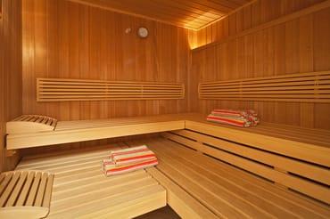 Sauna im Haus kostenfrei