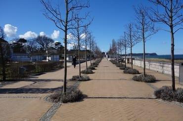 Bernsteinpromenade am Nordstrand  im Herbst, Ruhe pur zum Kraft tanken