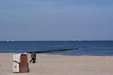 Ein Spaziergang am Strand tut immer gut