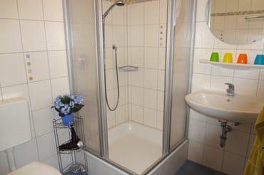 gepflegtes Duschbad