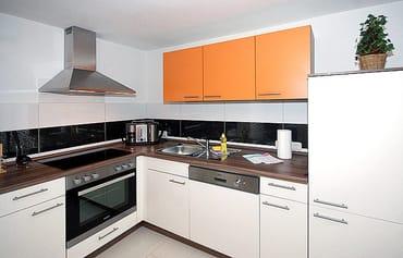 die komfortable Küchenzeile