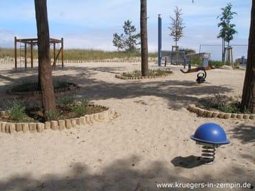 Spielplatz in Strandnähe