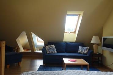 Dachgeschoss mit Dachgaube