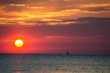 wunderschöne Sonnenuntergänge