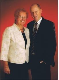 die Gastgeber Brigitte und Gerhard Klug
