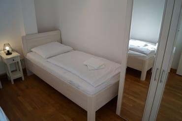Kleiderschrank auch im zweiten Schlafzimmer
