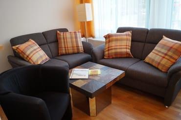 Gemütliche und bequeme Sitzecke im Wohnzimmer