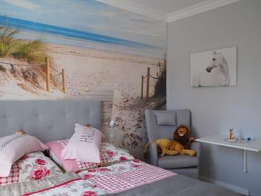 Doppelbett mit 7 Zonen Kaltschaummatratze für einen angenehmen Schlaf