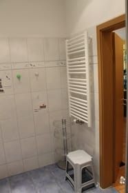 Der Handtuchwärmer.