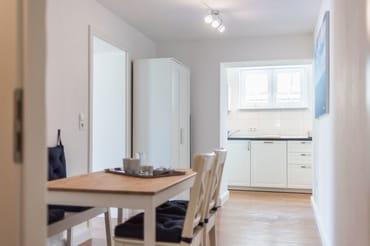 Hier ein Blick in den Küchenbereich.