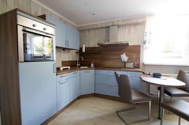 Ansicht Küchenbereich mit Essecke