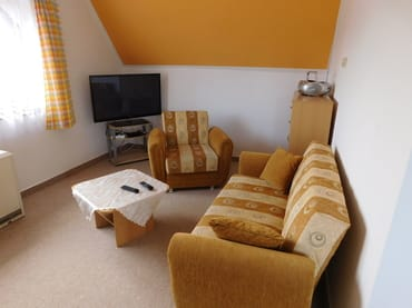 Wohnbereich mit Sitzcouch