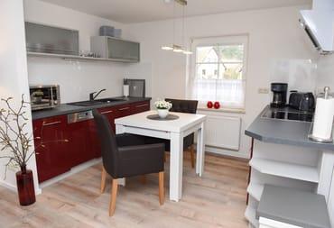 Küchenbereich mit Essplatz
