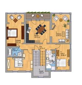 Zwei PKW-Stellplätze auf dem Grundstück runden den Urlaubskomfort dieses Appartements ab.  Bonus: Gäste des Appartements erhalten 50% Rabatt auf den Eintrittspreis in die Ostsee-Therme.