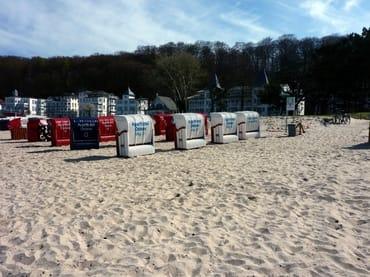 Strandkorb Mai bis September inklusive