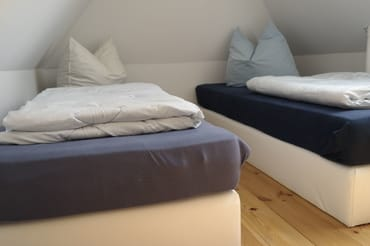 Schlafplätze im DG