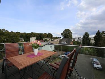 Balkon - von der Küche begehbar