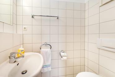 Das separate Gäste-WC.