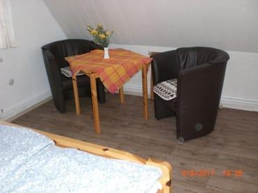 Sitzecke im 2 Zimmer