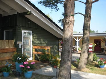 freistehendes Ferienhaus im nordischen Stil